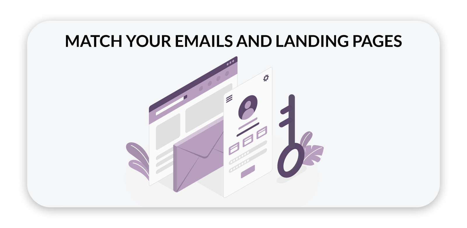 emails & landing pages