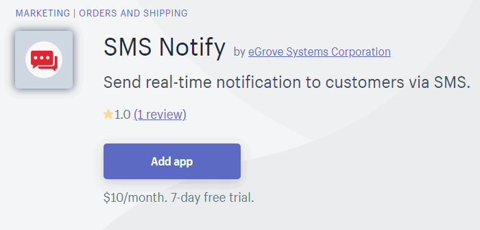 sms-notify-egrove-systems
