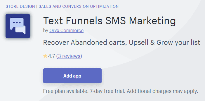 text-funnel-sms-oryx-commerce
