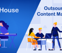 In-House vs. Outsourced Content Marketing for B2B SaaS Companies