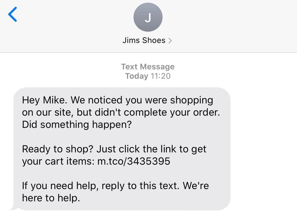 SMS Nudge Automation